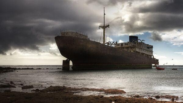 Barco fantasma - Sputnik Mundo