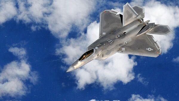 Un caza F-22 Raptor  - Sputnik Mundo