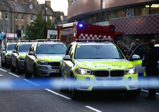 Los coches de la Policía del Reino Unido (imagen referencial)