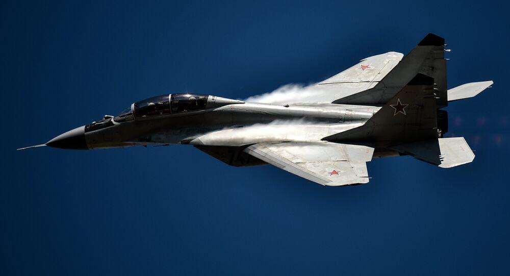 Avión de caza MiG-29 (imagen referencial)