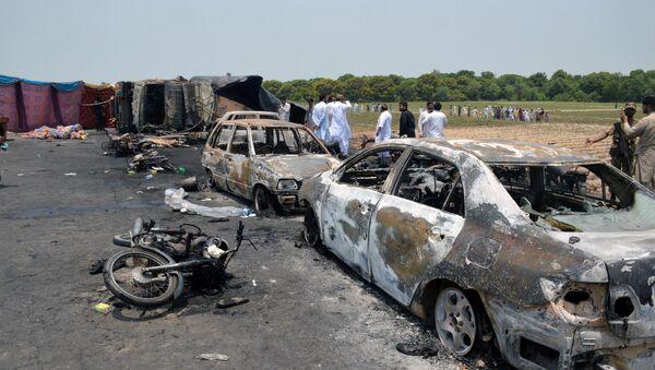La tragedia en Bahawalpur, Pakistán - Sputnik Mundo