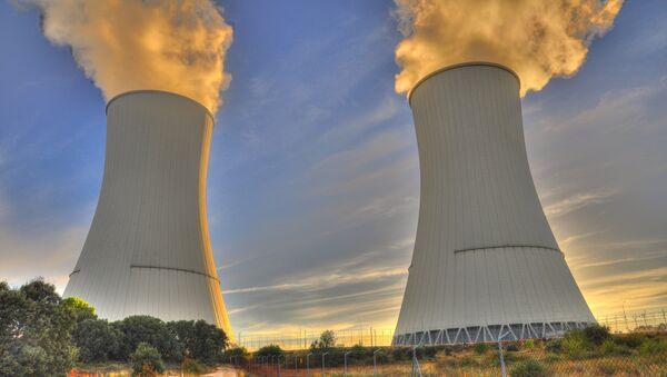 Una central nuclear (imagen referencial) - Sputnik Mundo