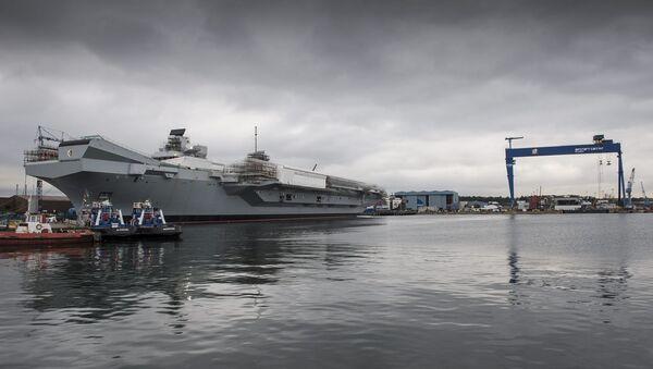HMS Queen Elizabeth - Sputnik Mundo