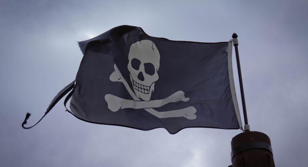 Bandera de piratas (imagen referencial)