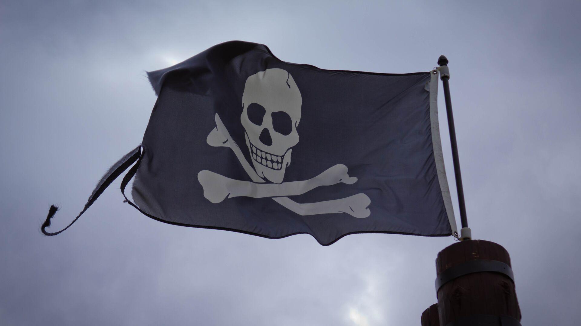 Bandera de piratas (imagen referencial) - Sputnik Mundo, 1920, 21.06.2021