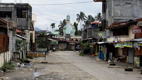 Situación en Marawi, Filipinas - Sputnik Mundo