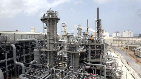 Producción del gas natural licuado en Catar (archivo) - Sputnik Mundo