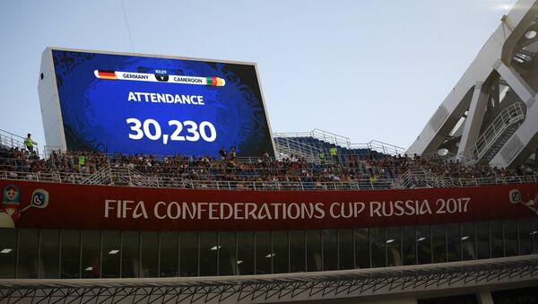 La Copa Confederaciones 2017 - Sputnik Mundo