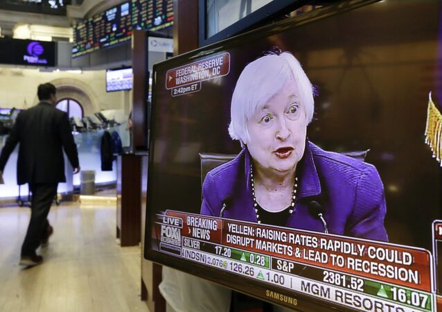 Janet Yellen, presidenta de la Fed (archivo)