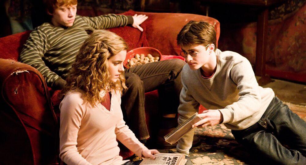 Los protagonistas de la saga 'Harry Potter'