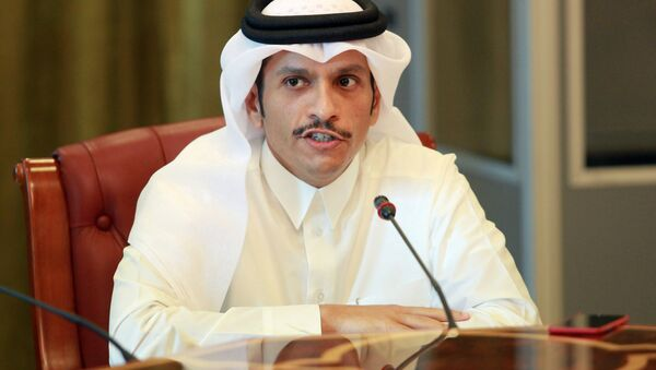 Mohamed bin Abdulrahman Thani, ministro de Exteriores catarí (archivo) - Sputnik Mundo