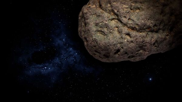 Meteorito (imagen referencial) - Sputnik Mundo