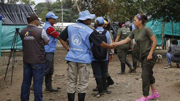 Misión de la ONU en Colombia - Sputnik Mundo