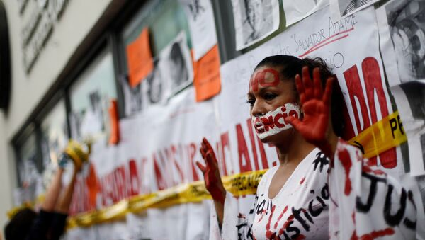 Protesta contra violencia contra periodistas en México - Sputnik Mundo