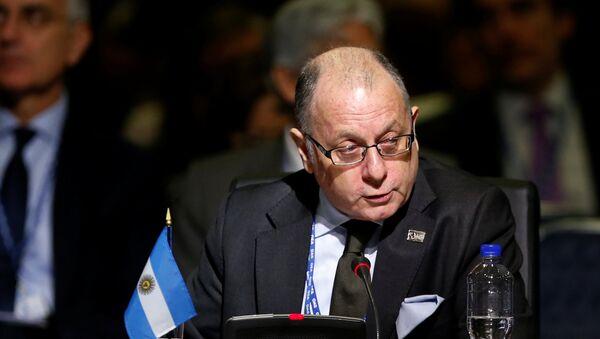 Jorge Faurie, ministro de Relaciones Exteriores de Argentina - Sputnik Mundo