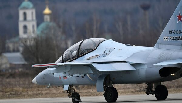 Репетиция воздушной части Парада Победы - Sputnik Mundo
