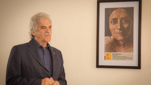 Ministro de Cultura de Ecuador, Raúl Pérez Torres - Sputnik Mundo