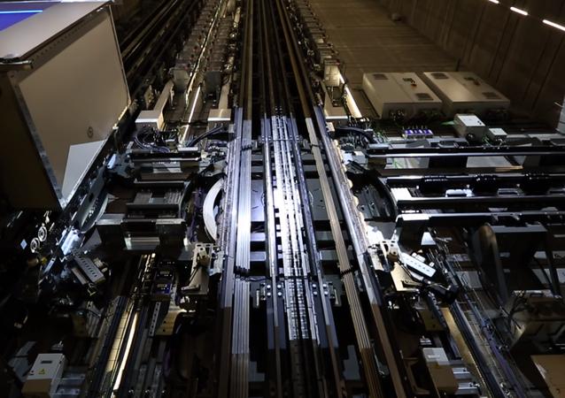 El prototipo elevador Multi Lift