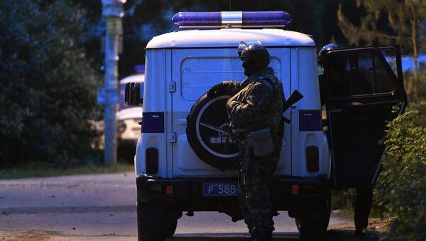 Un policía ruso (archivo) - Sputnik Mundo