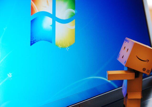 Interfaz de Windows 7 (imagen referencial)