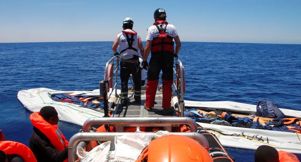 Situación con los refugiados en el Mediterráneo