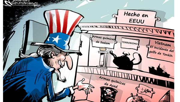 Made in EEUU: los principales 'logros' de la política exterior de Washington - Sputnik Mundo