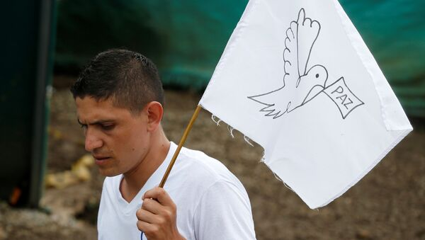 Paz con FARC en Colombia - Sputnik Mundo