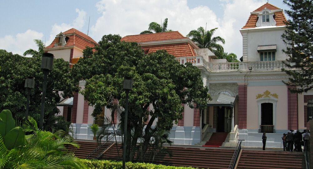 El Palacio de Miraflores en Caracas, Venezuela (archivo)
