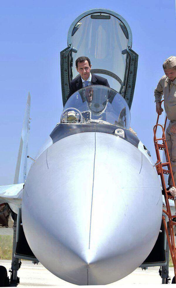 Bashar Asad, el 'as en la manga' de las Fuerzas Aeroespaciales rusas - Sputnik Mundo