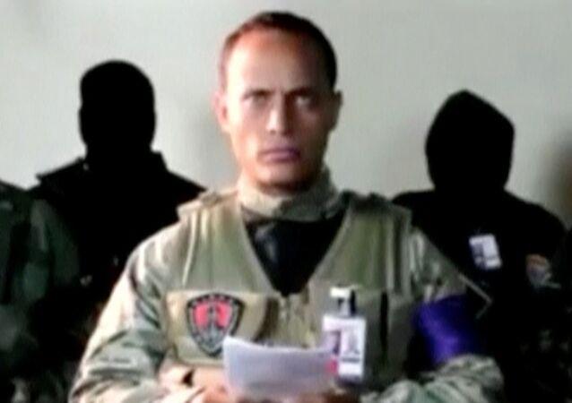 Óscar Pérez (captura de pantalla del vídeo)