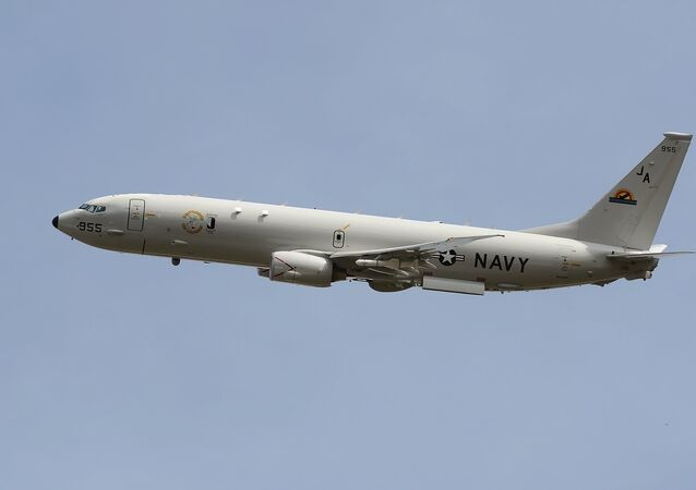 Avión espía de EEUU P-8A Poseidon