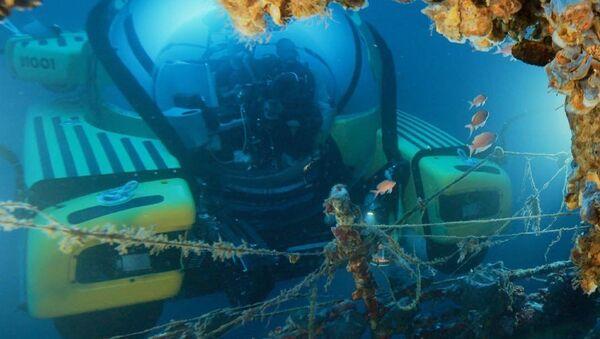 Buceadores rusos hacen un descubrimiento histórico - Sputnik Mundo