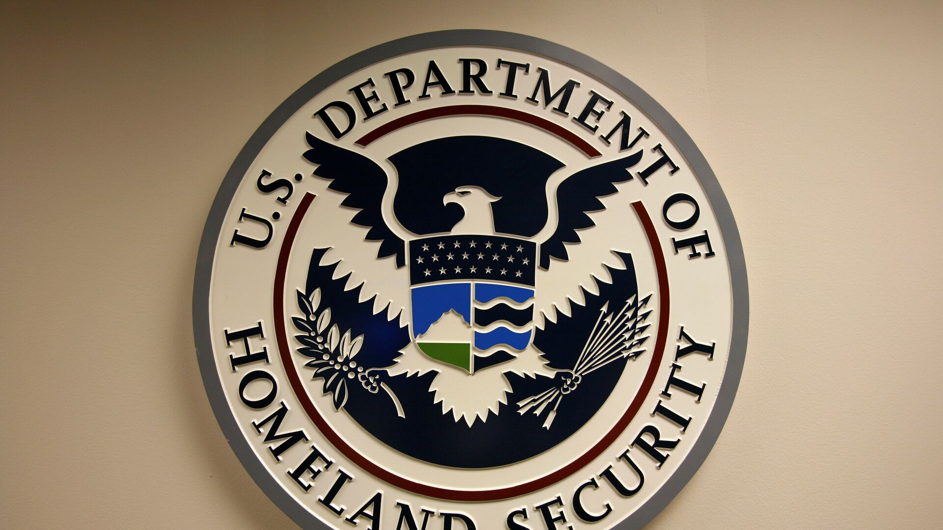 Logo del Departamento de Seguridad Interna de EEUU - Sputnik Mundo, 1920, 12.04.2021