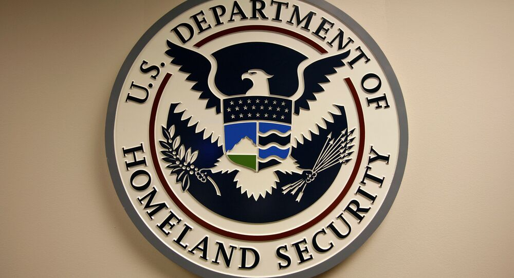 Logo del Departamento de Seguridad Interna de EEUU (archivo)