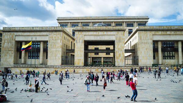 Palacio de Justicia, Bogotá - Sputnik Mundo