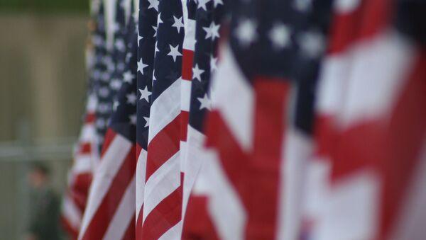 Las banderas de EEUU - Sputnik Mundo