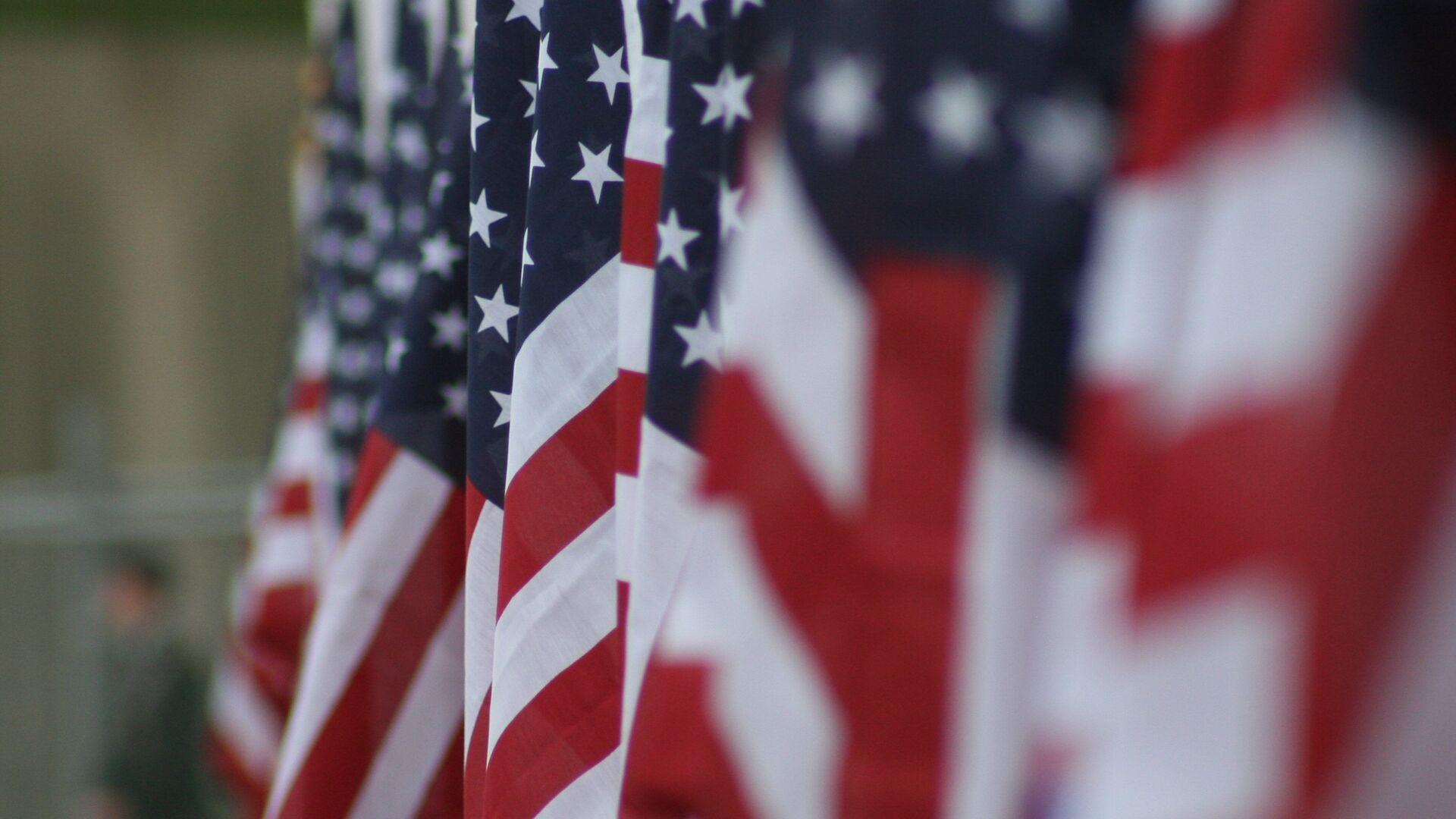 Las banderas de EEUU - Sputnik Mundo, 1920, 23.07.2021