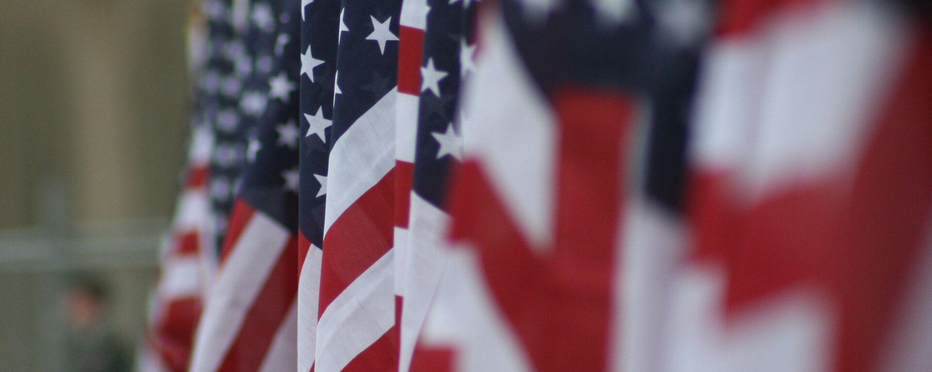 Las banderas de EEUU - Sputnik Mundo, 1920, 21.06.2021