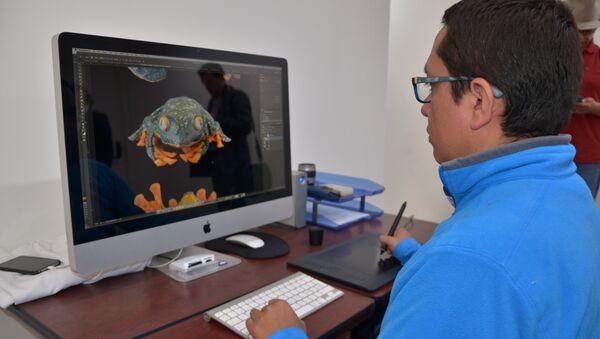 La rana jambato permaneció extinta por casi 30 años - Sputnik Mundo