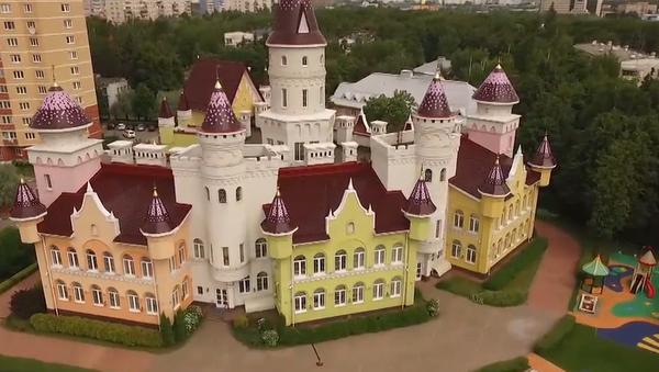 Así es el jardín de infancia ruso que parece un castillo medieval - Sputnik Mundo