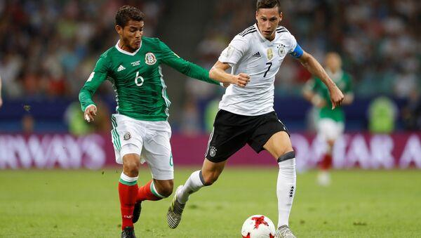 El partido entre Alemania y México - Sputnik Mundo
