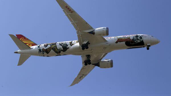 Boeing 787 (imagen referencial) - Sputnik Mundo