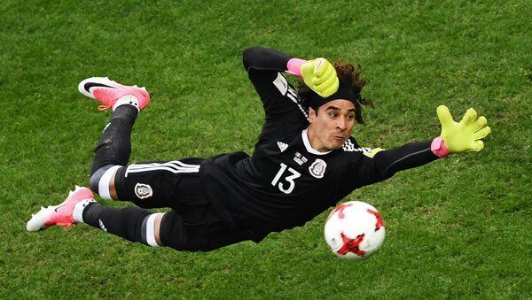 Guillermo Ochoa, guardameta de la selección de México - Sputnik Mundo