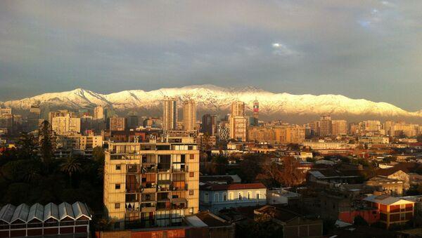 Santiago, la capital de Chile (archivo) - Sputnik Mundo