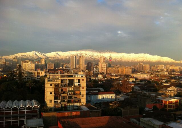 Santiago, la capital de Chile (archivo)