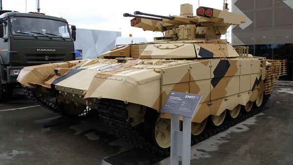 El vehículo de apoyo de fuego Terminator (archivo) - Sputnik Mundo