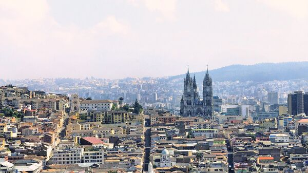 Quito, la capital de Ecuador (archivo) - Sputnik Mundo