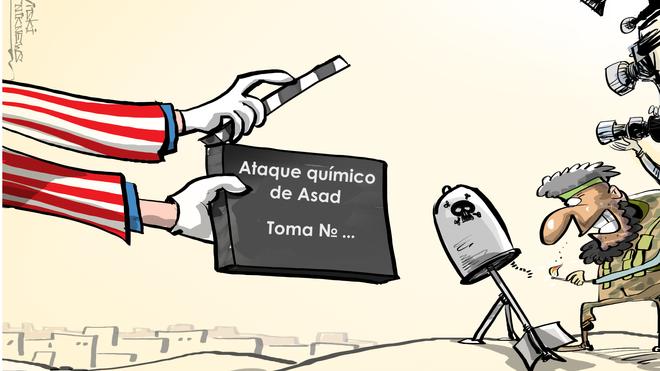 Acciones de falsa bandera: ¿a quién le favorece un ataque químico en Siria?