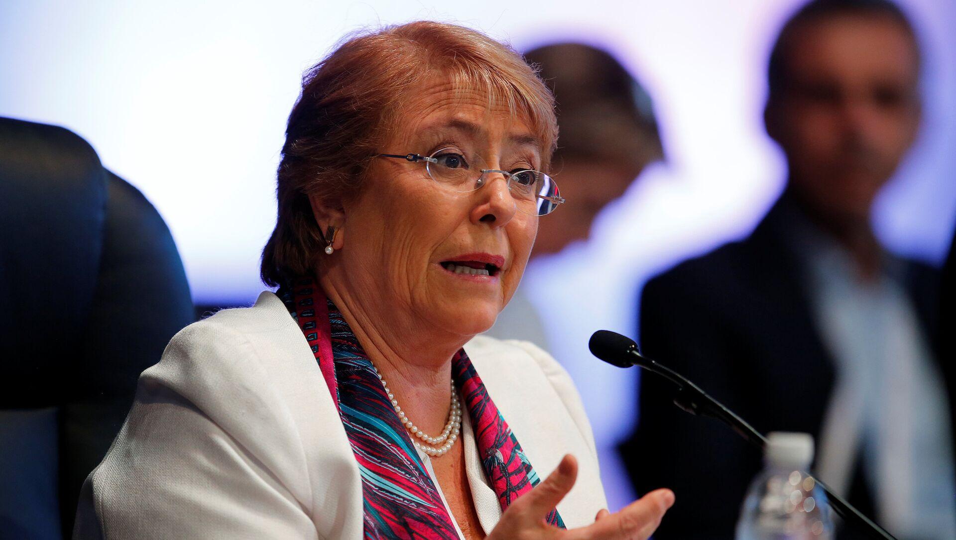 Michelle Bachelet, la Alta Comisionada de la ONU para los DDHH - Sputnik Mundo, 1920, 08.10.2020