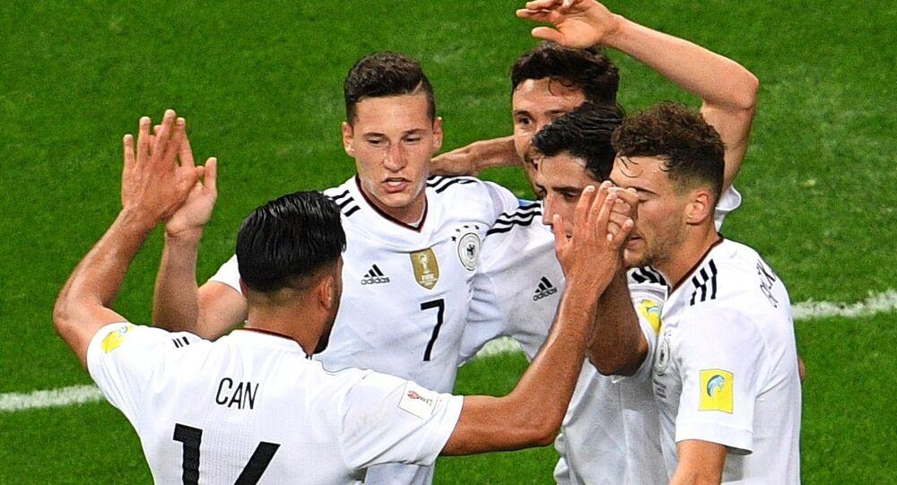 Jugadores de la selección alemana (archivo)